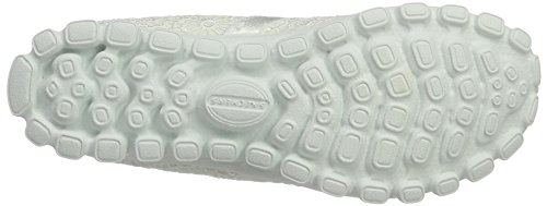 Skechers Ez Flex 2 - Make Believe, Mocassini Donna Bianco (wht)