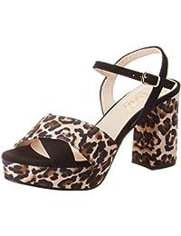 8e74dc3bc5284 Amazon.es  Hebilla - Sandalias de vestir   Zapatos para mujer ...