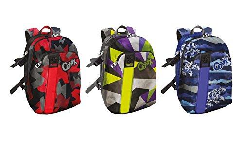 7a4da4decd Panini Franco Cosimo 59002 Comix Flash Backpack Organised, Assorted Colours