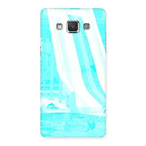 Impressive Ride Cyan White Back Case Cover for Galaxy Grand 3