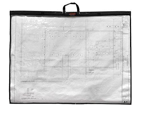 Adir faltbar Wasserdicht Pläne Shield Blueprint Shield-Pläne Carrier-Blueprint Carrier-Karte Fall-Karte Shield Dokument Fall (24x 36) von Adir Corporation