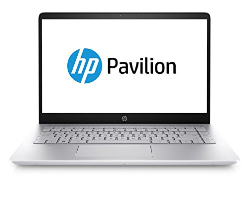 HP Pavilion 14-bf103ng 35,5 cm (14 Zoll Full HD) Laptop (Intel Core i7-8550U, 8GB RAM, 1TB HDD, 256GB SSD, NVIDIA GT 940MX 4GB, Windows 10 Home 64) silber