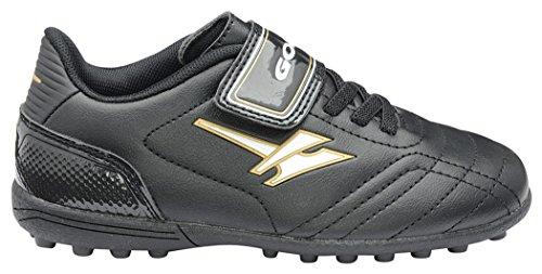 Gola  Football Boots, Jungen Fußballschuhe Schwarz / Gold