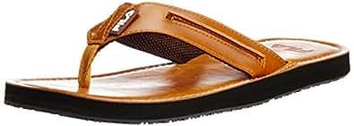 Fila Men's Chisel Brown  Flip Flops and Thong Sandals -11 UK/India (45 EU)