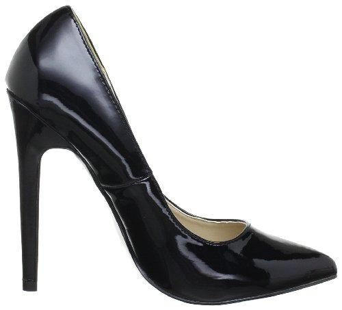 Pleaser Sexy 20, Escarpins femme Noir (Blk Pat)