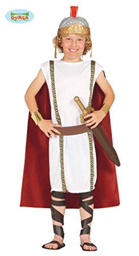 Römer Legionär Soldat - Kostüm für Kinder Gr. 110 - 146, Größe:128/134 (Legionärs Kostüm)