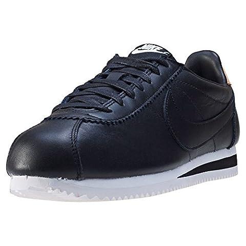 Nike Schuhe – Classic Cortez Leather Se schwarz/schwarz/creme Größe: 45