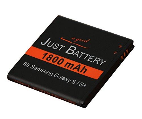 original JuBaTec Akku für Samsung Galaxy S Giorgio Armani GT-i9010 mit 1800 mAh ersetzt EB-575152VU