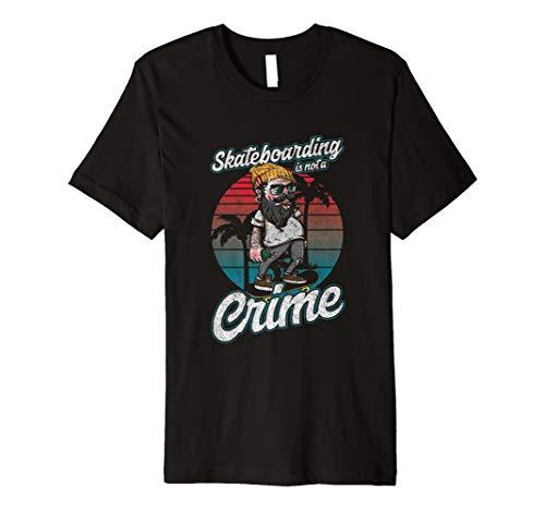 Lustiges Skater T-Shirt Skating Longboard Skaten Geschenk