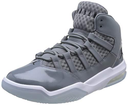 Nike Herren Jordan MAX Aura Basketballschuhe, Grau (Cool Grey/Black/White/Clear 010), 49.5 EU