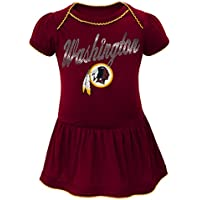 "Washington Redskins NFL ""Dazzled"" Infant Girls Bodysuit Dress"