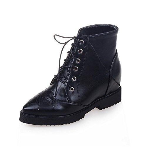 balamasa-womens-bandage-square-heels-platform-black-imitated-leather-boots-35-uk