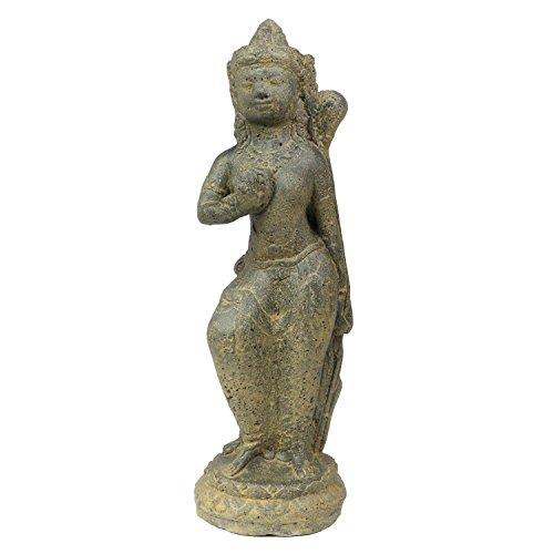 Oriental Galerie Sri Dewi Skulptur Stein Lavasand Indonesien Bali Gott Hinduismus Steinfigur Deko 42 cm