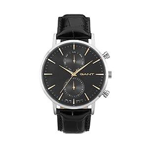 Gant Time orologio da polso da uomo Park Hill day-date al quarzo in pelle W11202