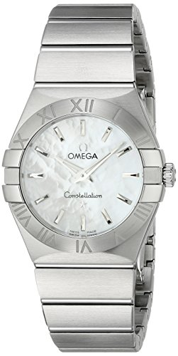 Omega Women's Analogue Watch with Metallic Dial Analogue