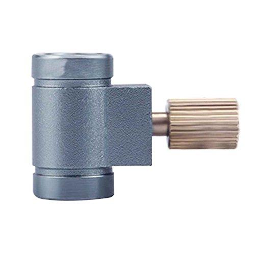 LUFA Doppelkopf Portable Propan Refill Adapter Aluminiumlegierung Gasflasche Tank - Propan-tank-refill
