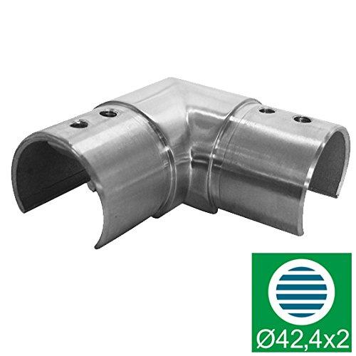 Handlauf - Glashalter - Winkelrohr ,D42,