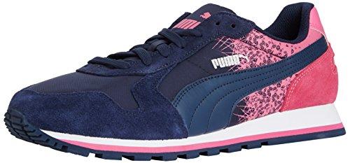 Puma - St Runner Fracture, Scarpe Da Corsa, unisex Rosa (peacoat-carmine rose)