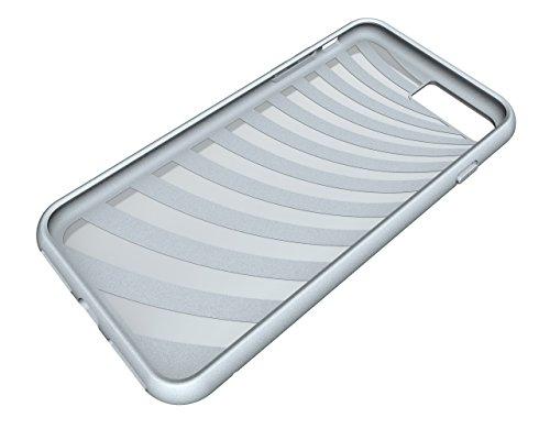 Handyhülle für Apple iPhone 8 Plus 5.5 Zoll TPU Case Hybrid zum Aufstellen mit Karten Slot Grün