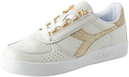 Diadora B.Elite Nub, Sneaker Uomo, Grigio (Gr Ghiacciaioblu Estate), 45.5 EU