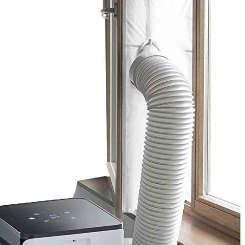 Fensterabdichtung für Fensterdichtung for Klimaanlagen und Ablufttrockner Tragbare Klimaanlage und Trockner mit Heißluftstopp - funktioniert mit jeder mobilen Klimaanlage