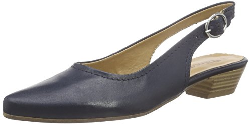 Tamaris 29400, Damen Slingback Pumps, Blau (Navy Leather 848), 40 EU
