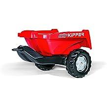128815 Rolly Rolly Toys remolque II, rojo, trailer