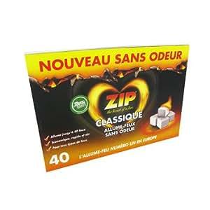 ZIP allume-feux classique sans odeur x 40