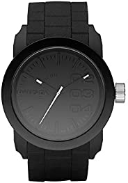 Diesel Men's Double Down Quartz Stainless Steel And Silicone Casual Watch Co