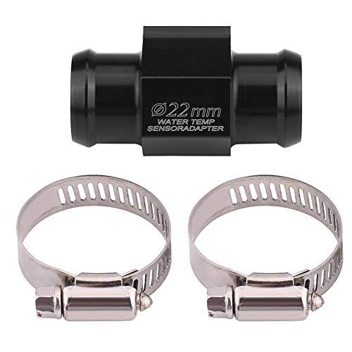 kimiss Moto Temperatura del agua Temperatura Comunes Tubo Manguera Sensor Gauge adaptador