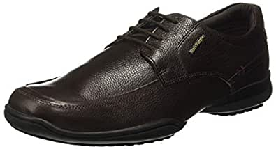 Hush Puppies Men's Jenny Brown Leather Formal Shoes-7 UK/India (41 EU) (8244057)