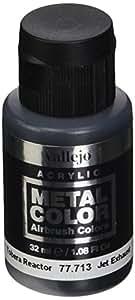 """Acrylicos Vallejo 32ml """"Jet d'échappement"""" Couleur métal"""