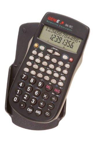 Taschenrechner Genie 56SC 228 Funktionen 2zeilige Anzeige mit Hardcover, Verpackungseinheit: 2 Stück