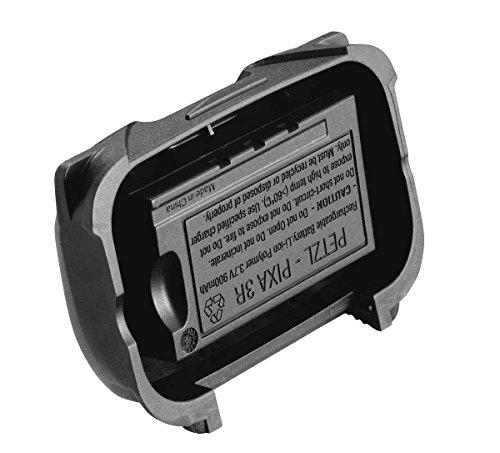 Petzl E78003 Lithium-Ion Polymère 930mAh batterie rechargeable - batteries rechargeables (930 mAh, Lithium-Ion Polymère, Noir)