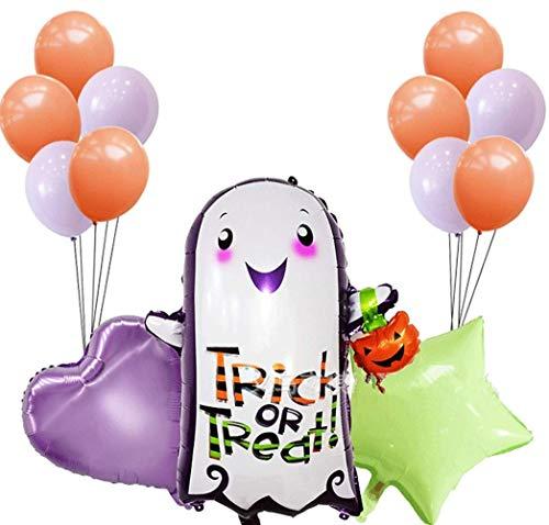 ween Ballons,Aufblasbare Spielwaren der Halloween-Folien-Ballone für Innenpartei-Dekoration Halloweens im Freien ()