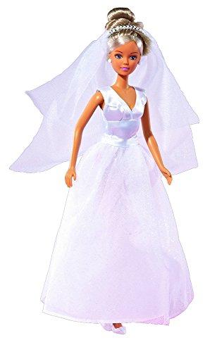 Simba 105733414 - Steffi Love Puppe im Hochzeitskleid, 2-sort.