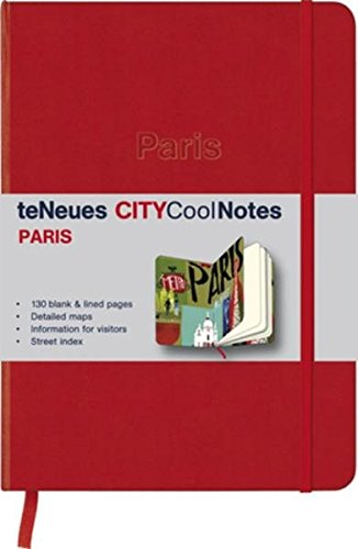 City CoolNotes Paris Red/City Collage