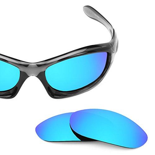 Verres de rechange pour Oakley Monster Dog — Plusieurs options Bleu Glacier MirrorShield® - Polarisés