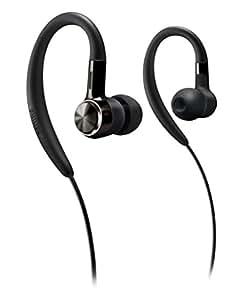 Philips SHS8100/98 Earhook Headphone (Black)