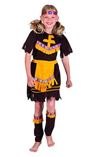 Kinderkostüm 82174 - Indianerin, braun
