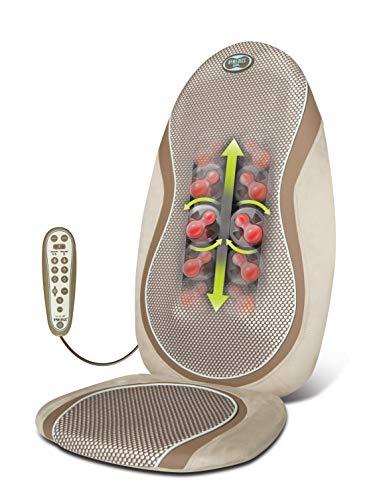 HOMEDICS -SGM-425H-Siège de massage shiatsu, têtes de massage en gel