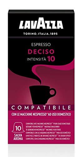 300 capsule caffè lavazza compatibili nespresso miscela deciso