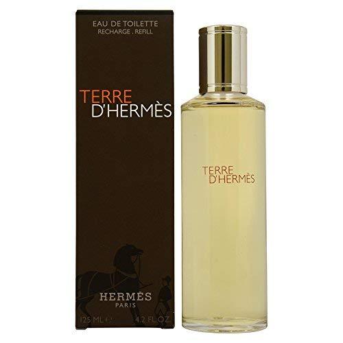 Hermes - TERRE d'Hermes - 125ml EDT Refill / Recharge Eau de Toilette - Eau De Toilette Spray Refill