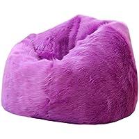 Preisvergleich für YJchairs Bohnen - Säcke Faules Sofa Kreativ Lila Modern Single Kleine Wohnung Zuhause Kreativ Plüsch Stuhl