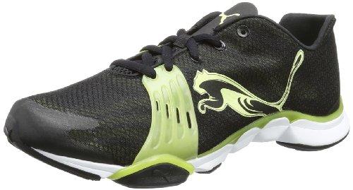 Puma Mobium Xt Wn'S, Chaussures de fitness femme Noir - Schwarz (black-sunny lime 01)