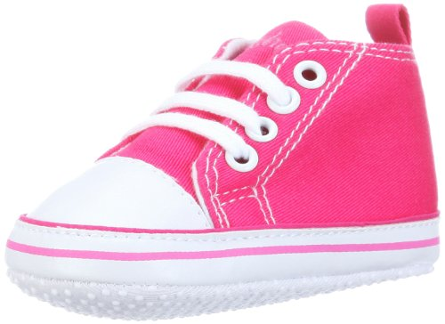 Playshoes Baby Canvas-Turnschuhe, Rosa (Rosa 18) 18