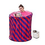 El vapor casero de la sauna, vapor portable de la tienda de la sauna del vapor del balneario releva con eficacia fatiga, incluyendo el equipo del vapor de Khan (110 * 95 cm)