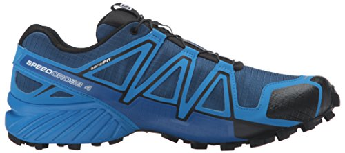 Salomon Speedcross 4 Cs, Chaussures de Trail Homme Bleu (Blue Depth/Bright Blue/Black)