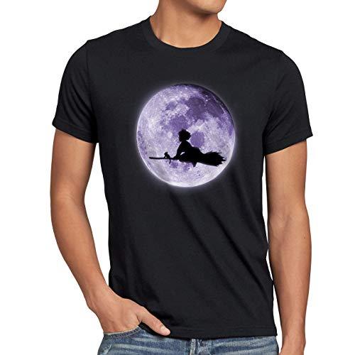 style3 Kikis Delivery Herren T-Shirt majo no Kleiner lieferservice Hexe takky?Bin, Größe:L
