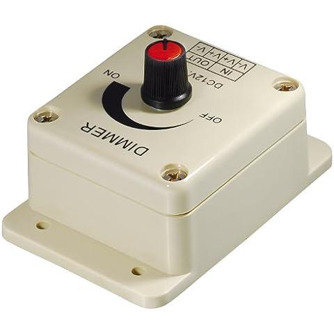 Transmedia LC15L - Regulador de intensidad para tiras de luz LED (12 V, 96 W)